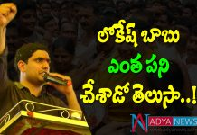 AP It Minister Nara Lokesh Training 600 youth to Attack on YSRCP in Social Media