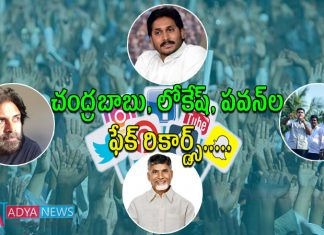 Nara Lokesh National Record in Social Media Fake Followers