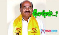 TDP MP JC Diwakar Reddy resign from party and MP