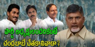 Who is Incapable of Telugu States Political Parties Presidents..?