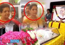 Harikrishna two wifes at his death body