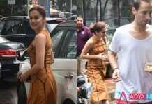 Taapsee Pannu goes on a lunch date with boyfriend Mathias Boe. See pics