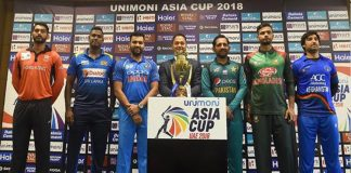Asia Cup 2018 : Schedule of Date and time of all the matches