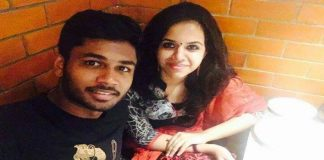 Crickter Sanju Samson announces marriage with collegemate