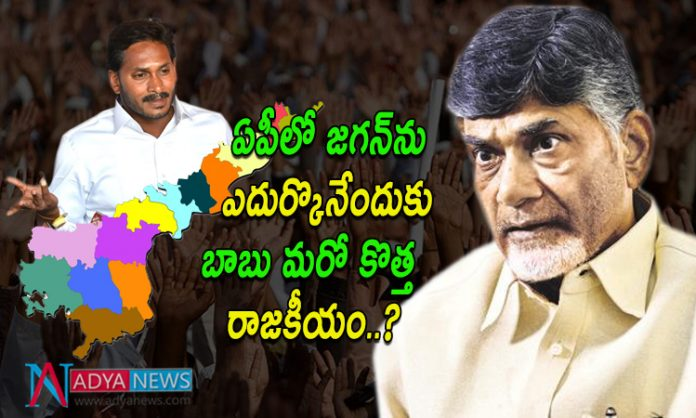 Chandrababu New Political Strategy in Andhra Pradesh for 2019 Elections
