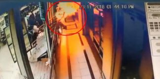 Vijayawada : Unknown Persons petrol Attack on Marchant and sets fire to kill him
