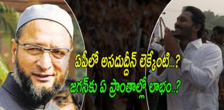 KCR And Asaduddin Owaisi Political Strategies Andhra Pradesh for 2019 Elections