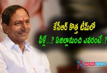 CM KCR Hints Telangana New Cabinet Ministers