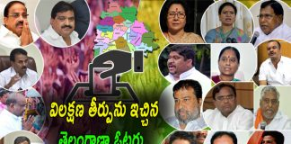 Telangana People Judgment in Assembly Elections Results 2018