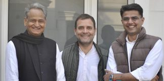 Rajasthan CM : Congres High command Ashok Gehlot announced as Rajasthan CM