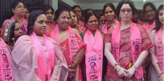 Lagadapati Padma Election Campaign for TRS Khairathabad Candidate Danam Nagendar