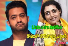 Jr ntr fire about his sister suhasini defeat