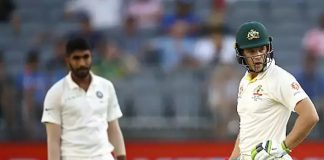 India vs Australia 2nd Test Day : Australia 277/6 At Stumps On Day 1 In Perth