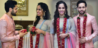 Just Married: Saina Nehwal ties the knot with Parupalli Kashyap