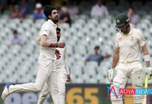 India vs Australia 1st Test : Australia trail India by 59 runs at stumps on Day 2