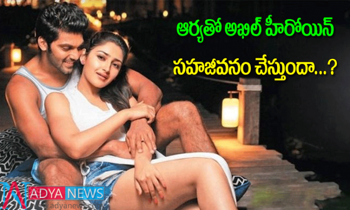 Sayesha saigal dating with kollywood hero arya
