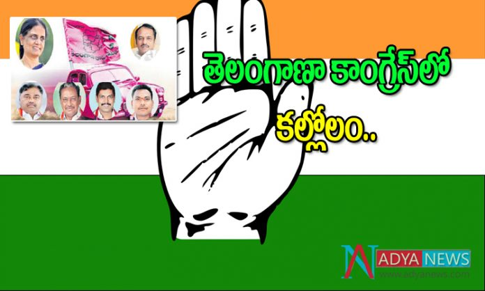Six Telangana Congress MLAs to join trs party Soonly