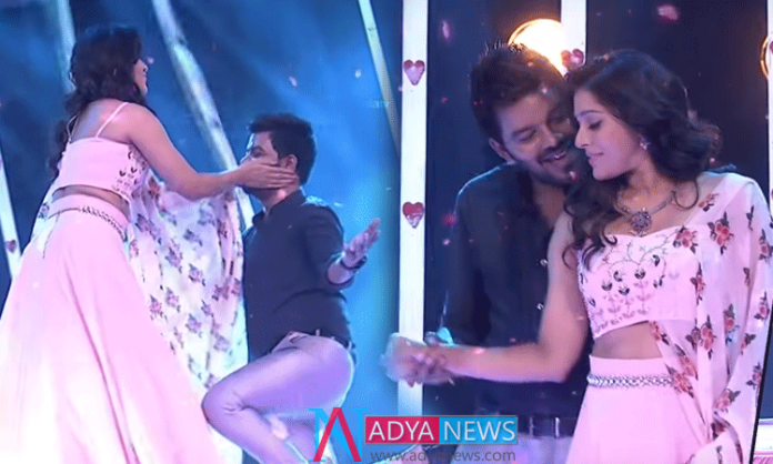 Once again dance sudigali sudheer and rashmi in dhee program