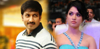 Tamanna romance with action hero gopichand
