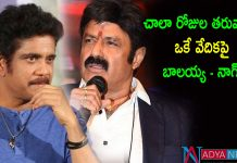 Differences clear between nag and balakrishna