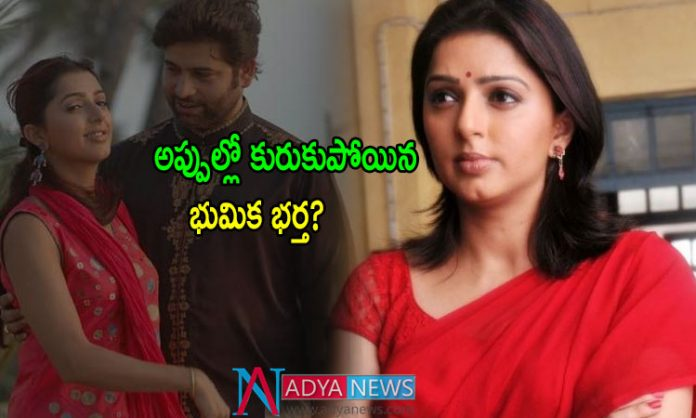 Heroine Bhumika faced financial problems