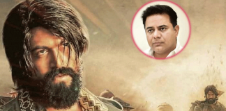 Ktr tweet on kgf movie