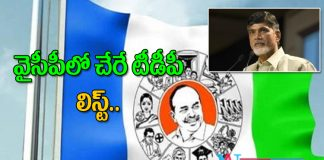 More TDP Leaders likely to YSRCP