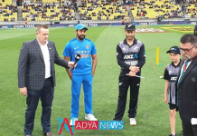 First t20 against kiwis:team india elected bowl first