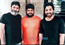 SS Thaman Starts Work for Allu Arjun and Trivikram Movie