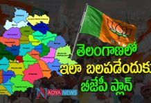 BJP Political Strategy in Telangana