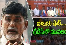 Big Shock to Chandrababu: Crisis in TDP