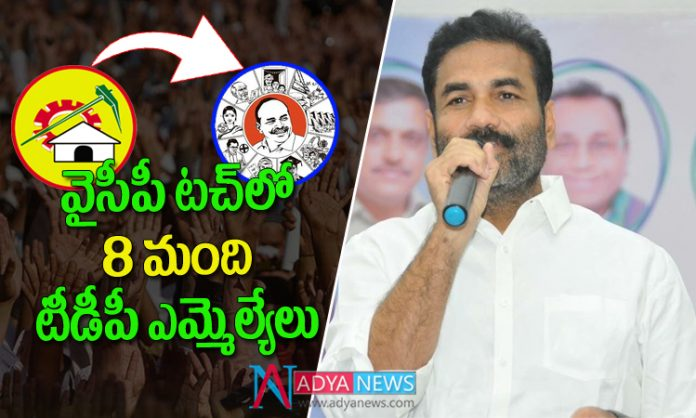 8 TDP MLA's are in touch with YSRCP Says YCP MLA Kotamreddy Sridhar Reddy