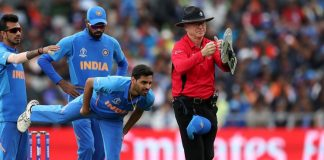 ICC World cup 2019 : Bhuvneshwar Kumar out for next 2-3 games due to hamstring injury