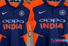 CWC 2019 : Political war breaks out over Team India's orange jersey