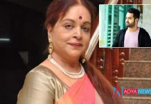 Jr NTR condolences to vijaya nirmala