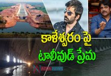 Tollywood Actors Nagarjuna and Ravi Teja React on Kaleshwaram Lift Irrigation Project