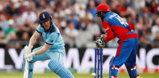ENG vs AFG CWC 2019 : Captain Morgan leads carnage as England post record 397/6