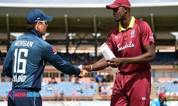 England Vs WI, ICC world cup 2019 : England won toss choose opt field against west indies