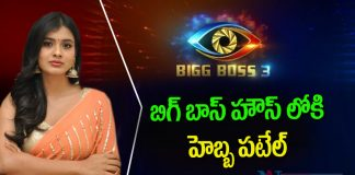Hebah Patel to Contest in Bigg Boss Telugu Season 3