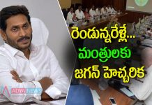 AP CM YS Jagan Mohan Reddy Surveillance on Ministers Performance