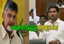 CM YS Jagan mohan reddy Fire on chandra babu over kapu reservations in assembly