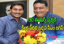 CM YS Jagan's appoints Telugu actor Prudhvi Raj as SVBC Chariman