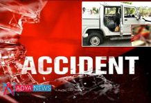 2 killed, 9 injured road accdient on ORR