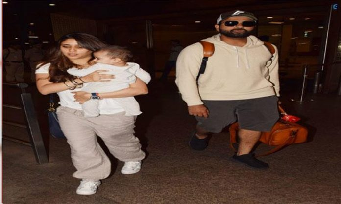 Rohith Family returns to India after World Cup 2019
