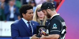 Sachin Tendulkar reveals said to Kane Williamson after New Zealand's loss in final of 2019 Cricket World Cup