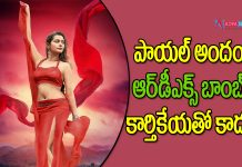RX 100 girl Payal Rajput goes bold in RDX Movie
