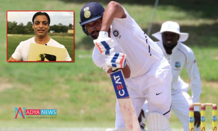IND vs WI 1st Test :Akhtar wants 'match-winner' Rohit in playing 11 in opening Test