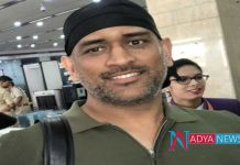 MS Dhoni's new look goes viral Photo and video in Social media