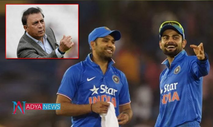 Gavaskar made sensational comments once again on the differences between Kohli and Rohit