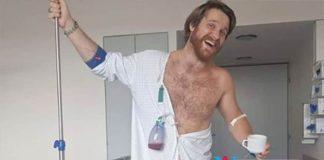 German Man hospitalised permanent erection